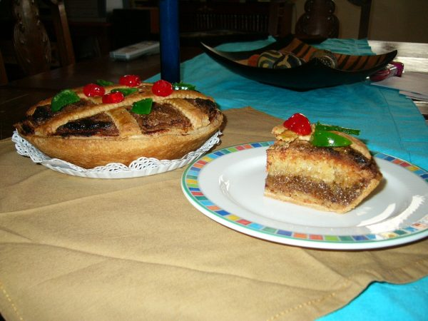 tarta de mondoñedo plato